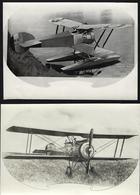 Lot Of 2 REAL PHOTOS + 2 SKETCHS Aviation HANRIOT HD 2 (?) Nr.241 Avion Floatplane + BIPLANE HD.3  C3 D2 Fighter FRANCE - Aviation