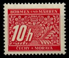 BÖHMEN MÄHREN PORTO Nr 2 Postfrisch S51FB5E - Bohemia & Moravia