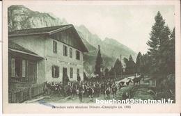Italie - Dimaro - Belvedere Sullo Stradone Dimaro-Campiglio Goat Capre - Trento
