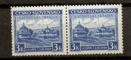 1939 Czechoslovakia Mi Karpaten 1 ** MNH - Ungebraucht