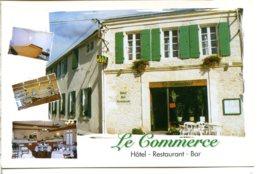 17290 THAIRÉ-D'AUNIS - Hôtel, Restaurant, Bar : Le Commerce (l'enseigne A Changé Depuis) - Frankreich