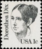 1983 USA DOROTHEA DIX Stamp Sc#1844 Famous Woman Martial Nurse - Jobs