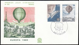 MONACO - Europa '83 / First Day Issue (FDC176) - FDC