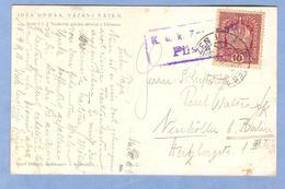 9908 Czech Republic Joža Uprka Vazani Satku Plsen Stamping - Tchécoslovaquie