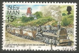 590 Man Railway Train Lewin Locomotive Laxey Mine Mining Coal Charbon Kohl (MAN-86e) - Minerals