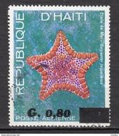 ##8, Haïti, Haitia, étoile De Mer, Starfish, Vie Marine, Marine Wildlife, Surimpression, Overprint - Haití