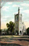 Iowa Davenport St John's Methodist Episcopal Church - Davenport
