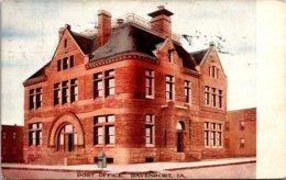 Iowa Davenport Post Office 1909 - Davenport