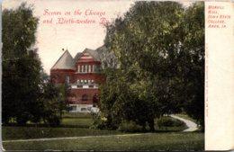 Iowa Ames Morrill Hall Iowa State College 1908 - Ames