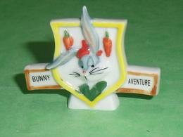 Fèves / Film / BD / Dessins Animés WB : Bugs Bunny ,  Bunny Aventure , Plaque  T69 - Dessins Animés