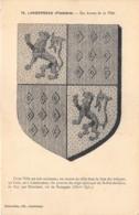 FINISTERE  29  LANDERNEAU - LES ARMES DE LA VILLE - BLASON - Landerneau