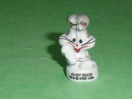 """Fèves / Film / BD / Dessins Animés WB : Bugs Bunny , Baby Bugs """" Mat """" T69 - Dessins Animés"""