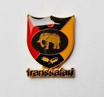 Pin's Blason éléphant TRANSSAFARI - ANIMAUX - Animaux