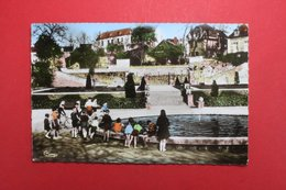 24261  CPA   MONTLUCON : Jardin Pyublic - Boulevard Carnot   !! Superbe  Carte Photo   !!   ACHAT DIRECT !! - Montlucon