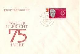 Walter Ulbricht Was A German Politician. 1968  (GENN200968) - Celebrità