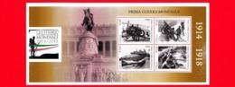 Nuovo - MNH - ITALIA - 2015 - Centenario Della Prima Guerra Mondiale - Altare Della Patria - 0,80 € × 4 - BF - 6. 1946-.. Republic