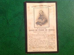 Comte De Pierre De Bernis 1902 - Célébrités