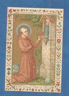 IMAGE PIEUSE HOLY CARD SANTINO IMMAGINETTE SACRE SAINT AUGUSTIN BRUGES BRUGGES   FELIX DE NICOSIE NICOSIA FELICE - Images Religieuses