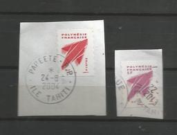 737/ Et 7890  Logos    Beaux Cachets(clascamerou17) - Polynésie Française