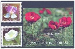 2016. Uzbekistan, Flora Of Uzbekistan, Wild Flowers, 2v + S/s,  Mint/** - Uzbekistan