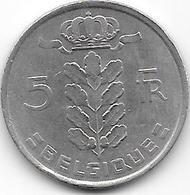 BELGIQUE 1975 - 5 Francs - 1951-1993: Baudouin I