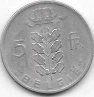 BELGIE 1963 - 5 Francs - 1951-1993: Baudouin I