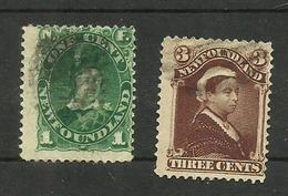 Terre-neuve N°40, 42 Cote 8 Euros - Newfoundland