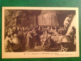 Fondation De L'Observatoir Par Lebrun - Historia