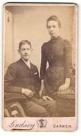 Photo Lindsey, Darwen, Portrait Bürgerliches Paar In Eleganter Kleidung - Anonyme Personen