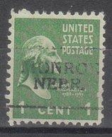 USA Precancel Vorausentwertung Preo, Locals Nebraska, Monroe 701 - Verenigde Staten