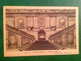 Versailles Grand Escalier, Détruit - Historia