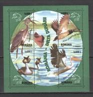 RM015 2004 ROMANIA FAUNA BIRDS 1KB MNH - Pájaros