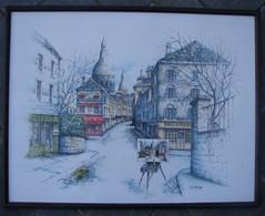 PDGL. 44. Lithographie De Puig Paris 1985. - Lithographies