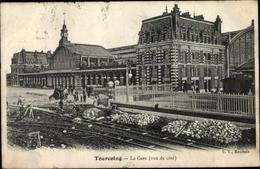 Cp Tourcoing Nord, La Gare, Gleise - France