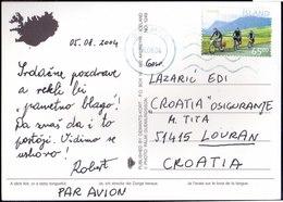 ICELAND - CYCLING  EUROPA -  - 2004 - Wielrennen