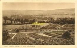 67 Odratzheim, Vue Générale, Affranchie 1933 - Andere Gemeenten