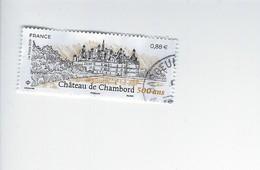 Patrimoine Architectural 500ème Anniversaire De L'Edification Du Chateau De Chambord 5331 - Oblitérés