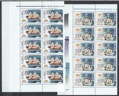 RM041 2004 ROMANIA SHIPS AMERIGO VESPUCCI #5793-94 MICHEL 40 EURO 10SET MNH - Ships