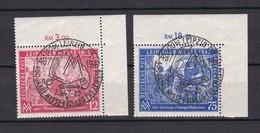 Alliierte Besetzung - Gemeinschaftsausgaben - 1947 -  Michel Nr. 965/66 - Oberer Eckrand - Gest. - Gemeinschaftsausgaben