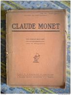 1924--CLAUDE MONET--Camille Mauclair--Peinture 40 Planches Hors Texte En Hélio - Art