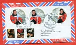 Canada 2003.Canadian Austonauts.The Envelope Past Mail. Airmail. - Briefe U. Dokumente