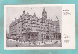 Small Old Post Card Of Hotel Great Central,Paddington,London,S94. - Londen - Buitenwijken