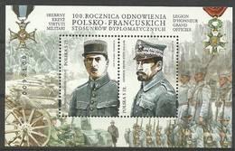Poland 2019 Mi Bl 282 Fi Bl 213 MNH ( ZE4 PLDbl282 ) - Militares