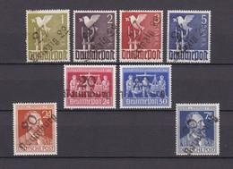 Sowjetische Zone - Bezirkstempel-Aufdruck - 1948 - Sammlung - Fälschung - BPP Signiert - Postfrisch/Ungebr. - Zone Soviétique