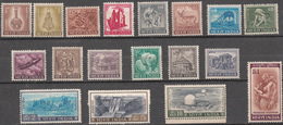 INDIA 1965 To 1968, 4th Definitive Serie 18v Complete, Definitives,  Good Condition, MNH (**) - Unused Stamps