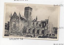 CPA - VIRE (14) Notre-Dame (détruite - En Ruine - Guerre ?) - Vire