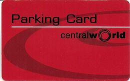 CARTE DE STATIONNEMENT PARKING CARD CENTRAL WORLD ASIE INDONÉSIE ?? THAÏLANDE ?? - Francia