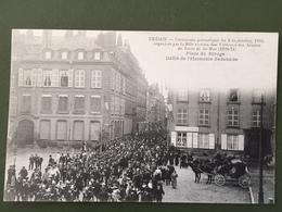 SEDAN-cérémonie Patriotique Du 3 Sept 1905-Place Du Rivage,défilé De L'harmonie Municipale.. - Sedan