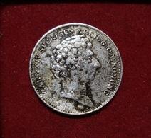 SWEDEN 1/16 RIKSDALER 1836 CHARLES XIV, BERNADOTTE GENERAL OF NAPOLEON. SILVER, ARGENT. SUEDE. - Sweden