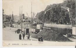 MORLAIX. CP Voyagée Les Docks (petit Pli Bas Gauche Voir Scan) - Morlaix